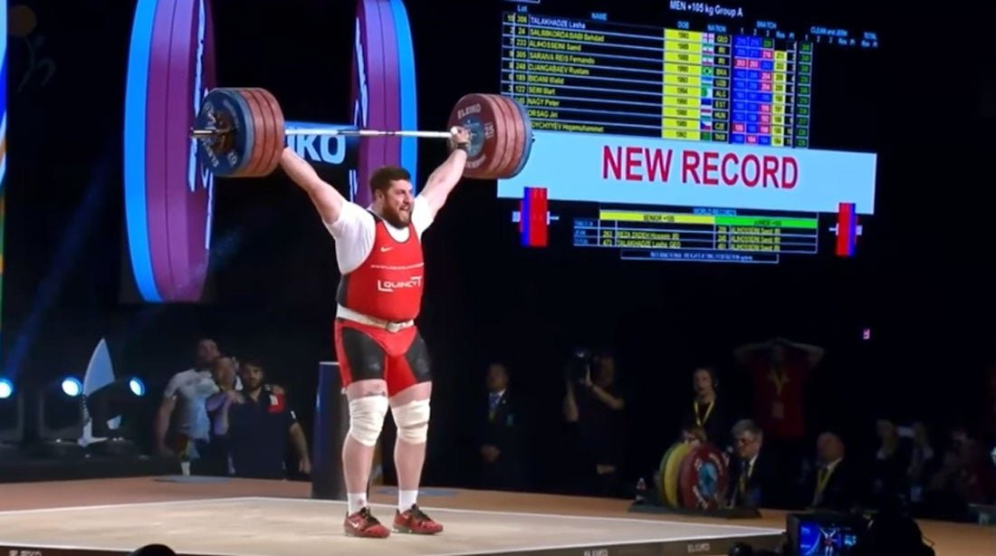 There's a good reason the world's strongest athletes are kinda fat