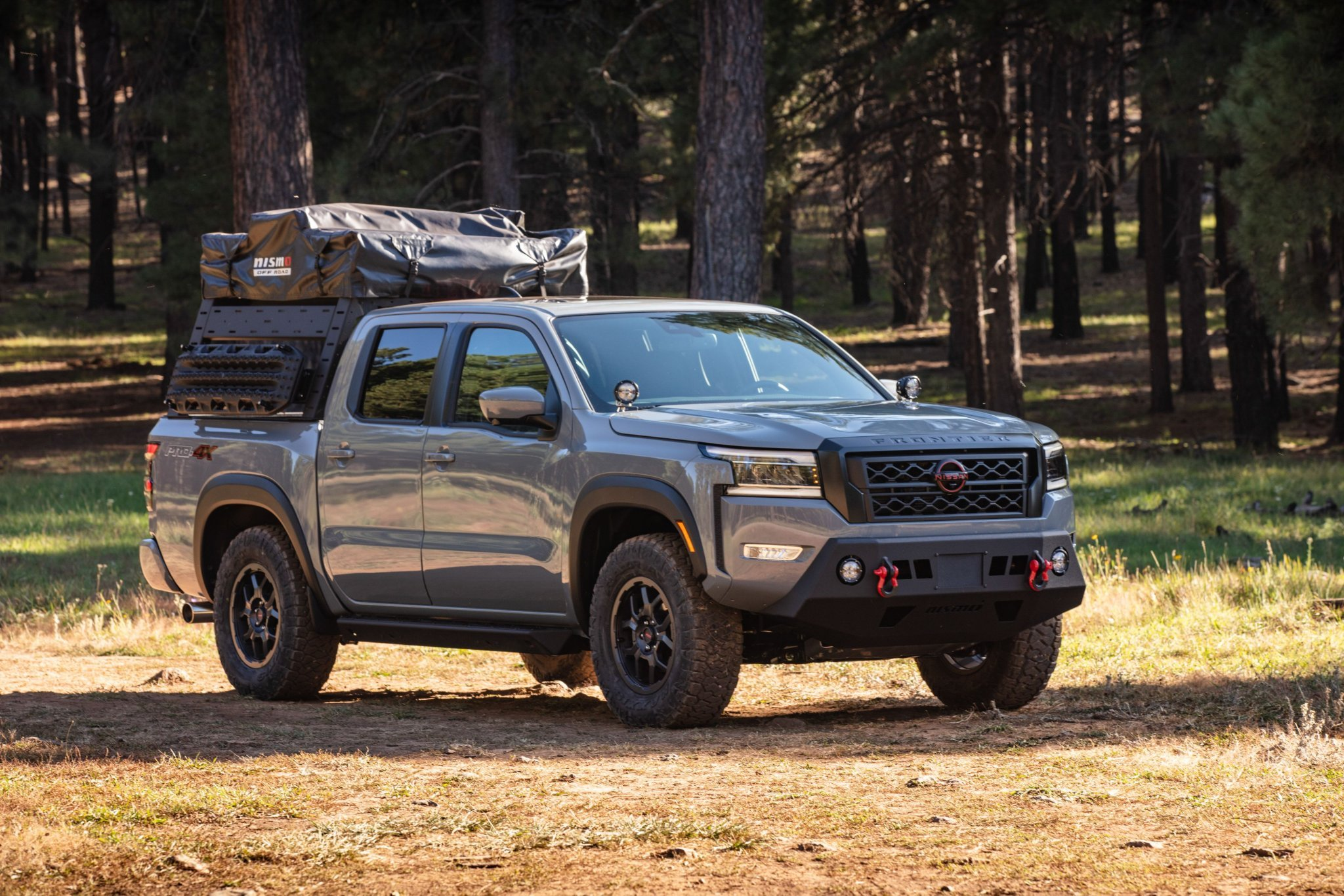 Nissan Now Sells Super Cool Overlanding Accessories for the Frontier