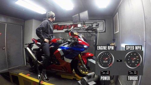 Honda CBR1000RR-R Fireblade S Dyno