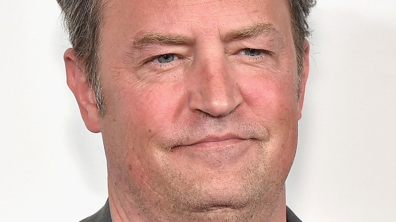 The Real Reason Matthew Perry Slurred His Words During The Friends Reunion