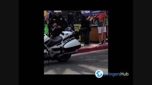 US: Police Declare Unlawful Assembly During White Lives Matter Demonstration In Huntington Beach, California