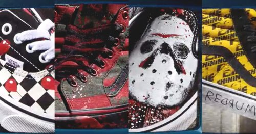 Horror Vans Are Here to Bring Some Scares to Your Shoe Collection This October