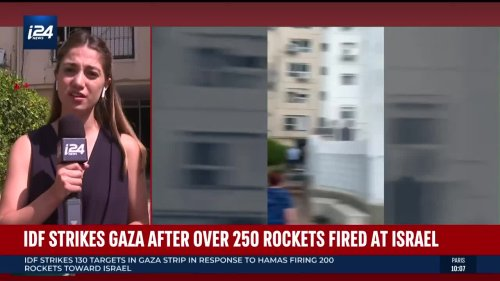 i24NEWS Correspondent Batya Levinthal Reports from Ashkelon