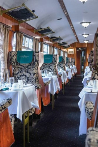 THE MOST LUXURIOUS TRAIN JOURNEYS IN THE WORLD