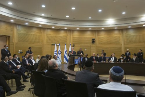 Israel's new government gets to work after Netanyahu ouster