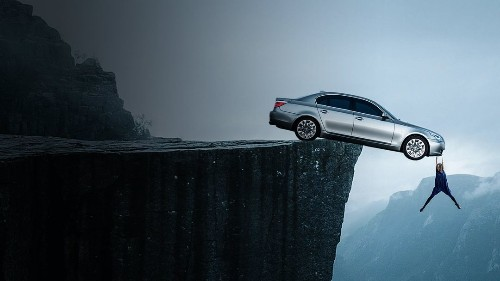 How to Survive a Car Hanging Off a Cliff
