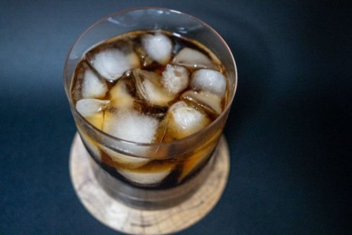 Be Bold. Drink a Black Russian.