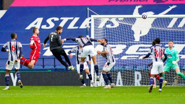 Alisson scores dramatic winner against West Brom