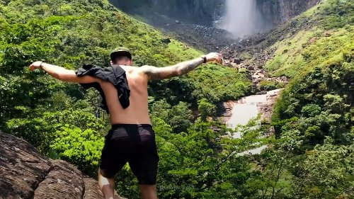 What If You Fell Into Angel Falls?