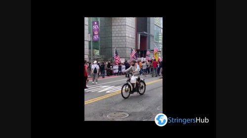 US: Hundreds Of NYC Demonstrators Protest Against COVID-19 Vaccine Mandates