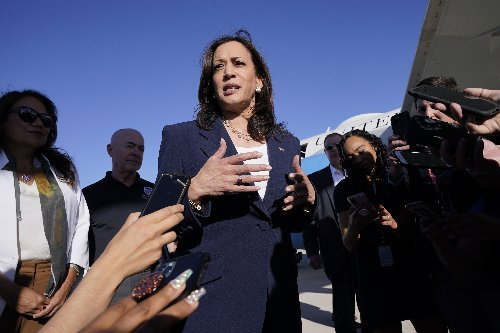 Harris heads to border after facing criticism for absence