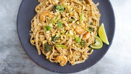 Skip Takeout And Make Fresh Shrimp Pad Thai