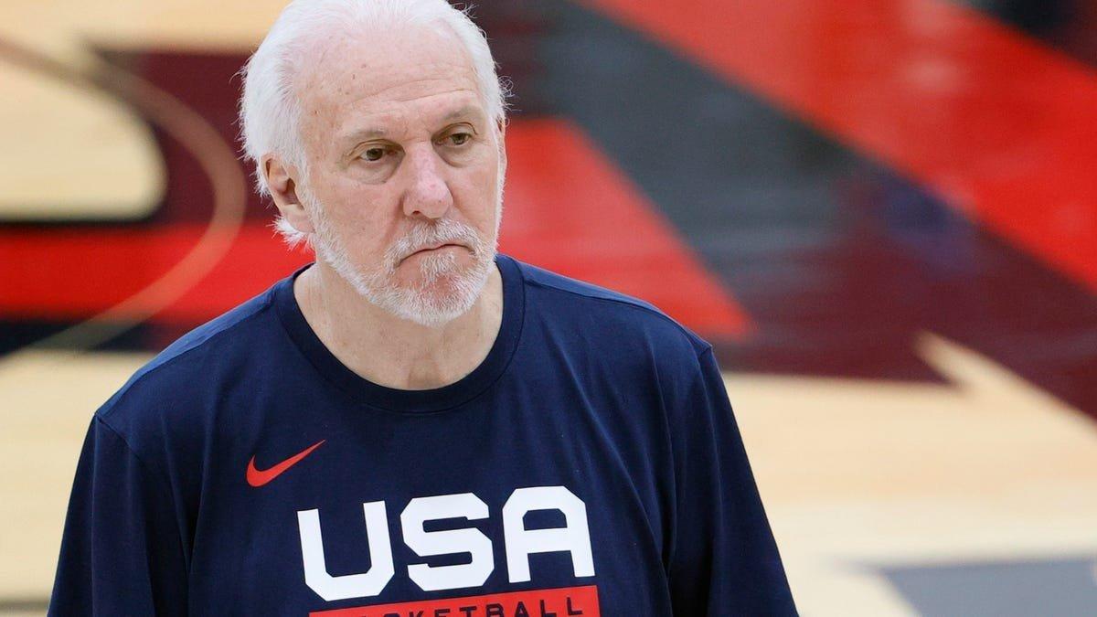 Gregg Popovich's entire tenure with Team USA has been a failure
