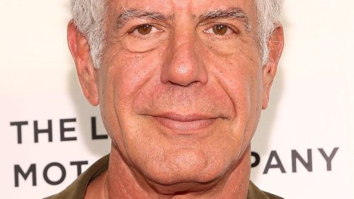 Anthony Bourdain Loved Cooking These Dishes With His Daughter