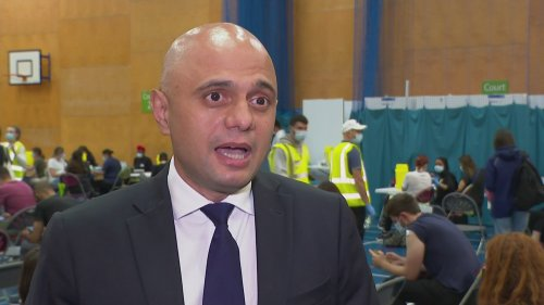 Sajid Javid appeals to 3m unvaccinated young people
