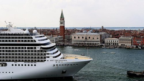 Economic fears in Venice as cruise ship ban comes into force