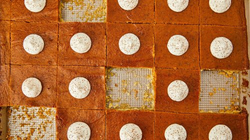 Pumpkin Pie Bars Are The Easiest Thanksgiving Dessert