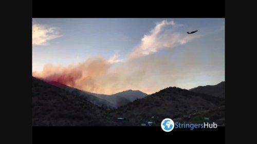 US: Wildfire erupts in Southeastern Arizona, prompting evacuation