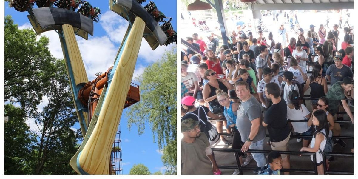 People Got Stuck Upside Down At Canada's Wonderland