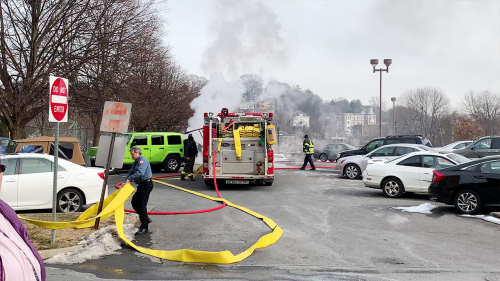 'Burning Sweater Leads to the Entire Car Bursting into Flames'