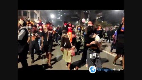 Thousands of Brazilians march in Sao Paulo to demand Bolsonaro's impeachment