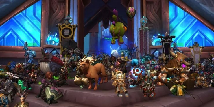 World Of Warcraft Players Are Protesting Against Activision Blizzard In-Game
