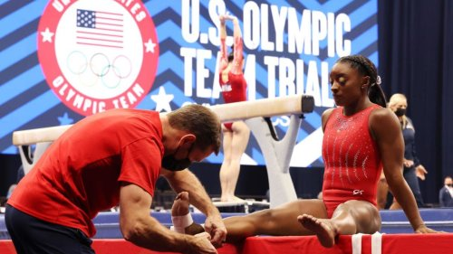 Simone Biles Nursing Injury Heading Into Tokyo Olympics