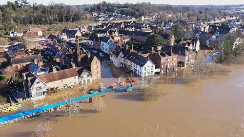 Storm Christoph: Britons reduced to tears after severe floods damage homes for a second year