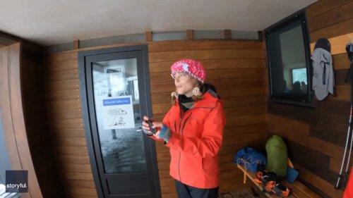 Adventurers Document Stunning Mountain Trek in Snowy Tasmania