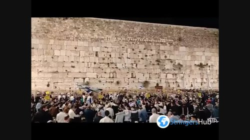 Israel Celebrates Independence Day, Crowds Dance At Western Wall In Jerusalem