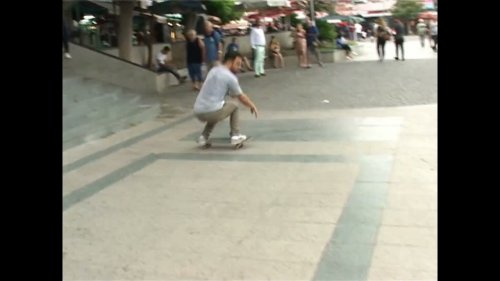 Smooth Skater Lands Ollie