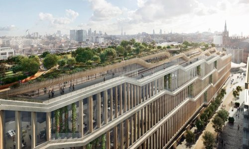 Google submits plans for 1m sq ft 'landscraper' London headquarters
