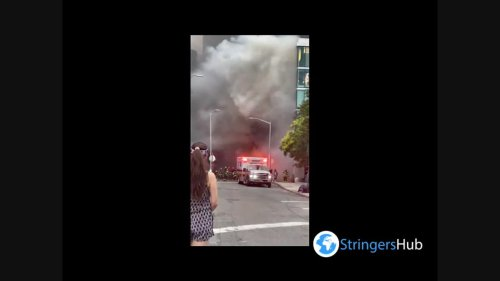 US: Thick Plume Of Smoke Billows From Car Fire In Queens, NYC