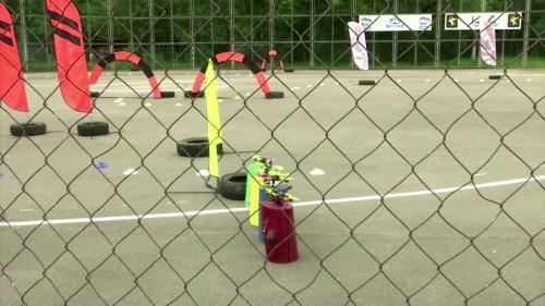 Russians make DIY drones for racing contest