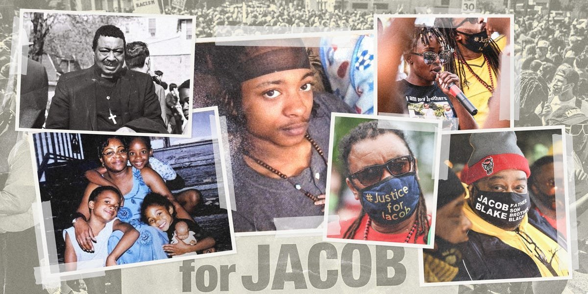 How 3 minutes ripped apart Jacob Blake's life & rekindled his family's activism
