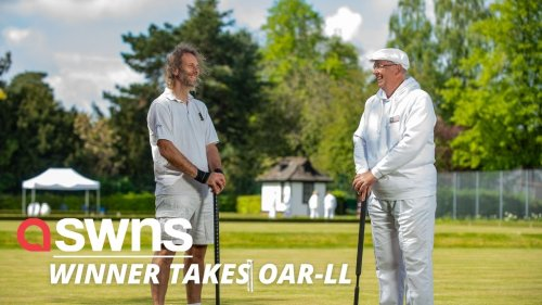 Two communities settle dispute over how to pronounce river - with game of CROQUET (RAW)