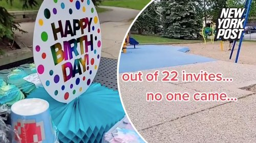 Mom heartbroken after 22 no-shows at son's 6th birthday party
