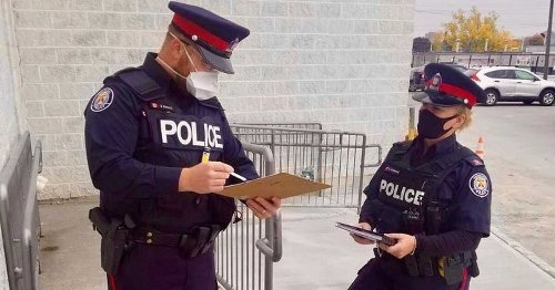 Toronto Police Respond To Ontario's New COVID-19 Enforcement Rules