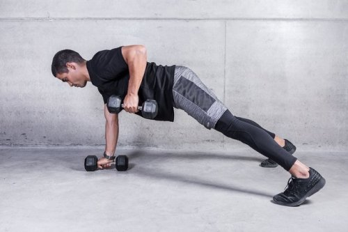 The 10-3-45 Dumbbell Workout Builds a Stronger Upper Body