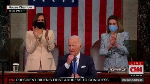 Biden's First Joint Address to Congress