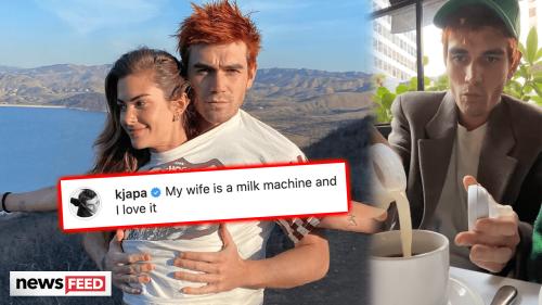 KJ Apa Calls Clara Berry His 'WIFE' & Fans React!