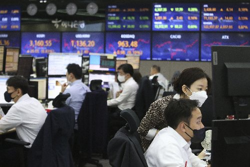 US stocks slip further from records amid inflation fears