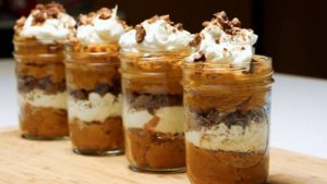 These Thanksgiving Inspired Parfaits Are Delicious and Fun to Make!