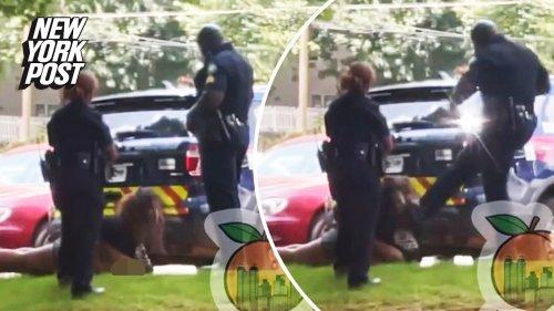Atlanta police sergeant kicks handcuffed woman in face: video