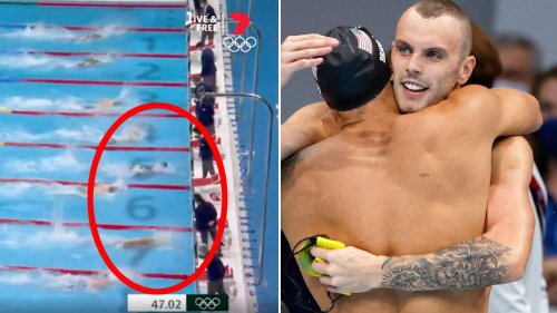 Aussie heartbreak as Kyle Chalmers pipped to freestyle gold
