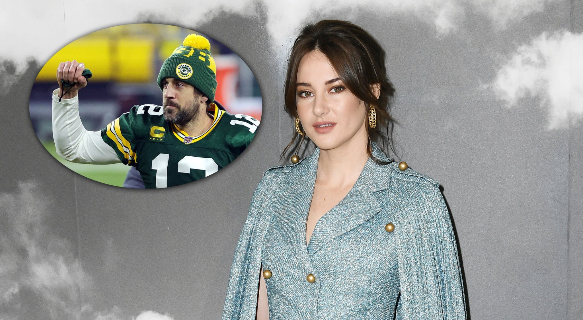 Shailene Woodley's first Instagram with Aaron Rodgers has us worried