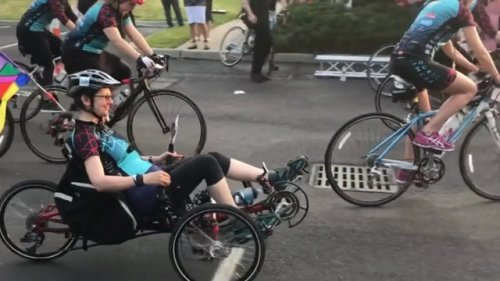 White Plains woman diagnosed with multiple sclerosis to bike 60 miles for charity