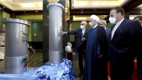 Iran starts up advanced enrichment centrifuges