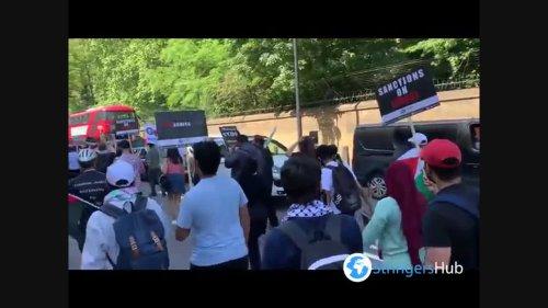 UK: Pro-Palestine Protest Amid G7 Summit In London