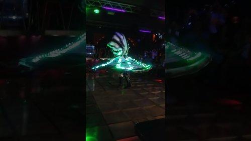 Mesmerising Dancer Shares Performance